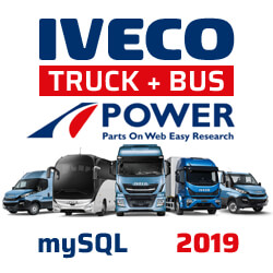 In mySQL IVECO: trucks and buses